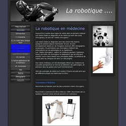 Description - La robotique