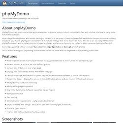 Description - phpMyDomo