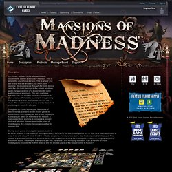 Mansions of Madness - Description