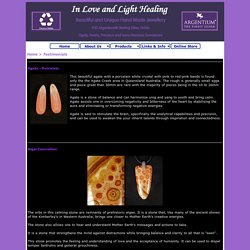 Gemstone Descriptions and Metaphysical Properties