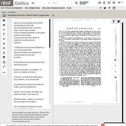Descriptions des arts et métiers faites ou approuvées par messieurs de l'Académie royale des sciences de Paris ... Nouvelle édition publiées avec des observations... par J. E. Bertrand,... Tome XIX