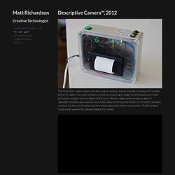 Descriptive Camera