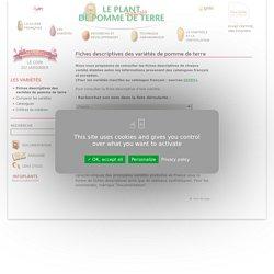 Fiches descriptives des variétés de pomme de terre commercialisées en France - Le plant français de pomme de terre