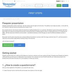 descrubre as Fleepster application works