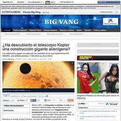 ¿Ha descubierto el telescopio Kepler una construcción gigante alienígena?