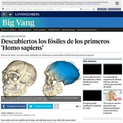 Han sido descubiertos los fósilas de los primeros 'Homo sapiens'