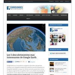 Los 5 descubrimientos mas interesantes de Google Earth