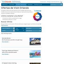 Descuentos en Orlando - Paquetes, cupones y Magicard - Información para vacaciones en Orlando Florida