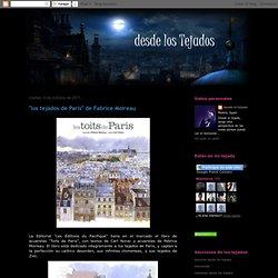 """DESDE LOS TEJADOS: """"los tejados de Paris"""" de Fabrice Moireau"""