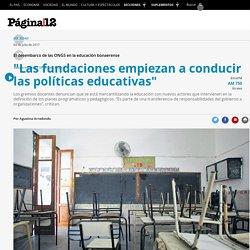 El desembarco de las ONGS en la educación bonaerense