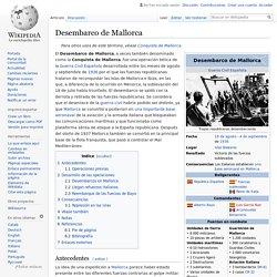 Desembarco de Mallorca