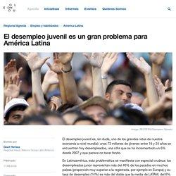 El desempleo juvenil es un gran problema para América Latina