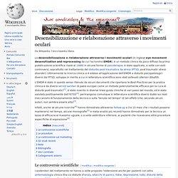 Desensibilizzazione e rielaborazione attraverso i movimenti oculari - Wikipedia - Cyberfox