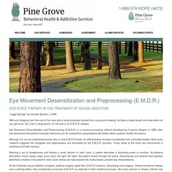 Eye Movement Desensitization and Preprocessing (E.M.D.R.)