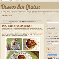 Deseos Sin Gluten: ENTRANTES