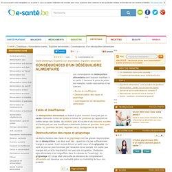Guide santé : Déséquilibre alimentaire et prise de poids avec e-sante.be - Équilibre alimentaire