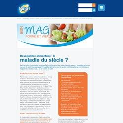 Le déséquilibre alimentaire - Bion Mag