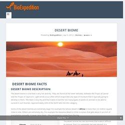 Desert Biome Fauna