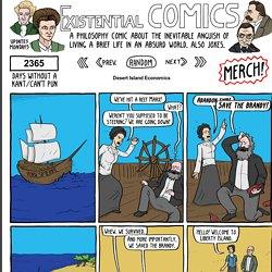 Desert Island Economics - Existential Comics