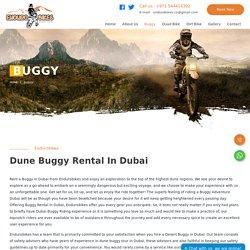 Dubai Desert Buggy Rental - Endurobikes