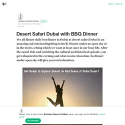 Desert Safari Dubai with BBQ Dinner – Arabian Desert Dubai – Medium
