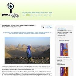 Desert Wear for Traveling the Sahara Desert