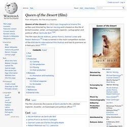 Queen of the Desert (film, 2015)