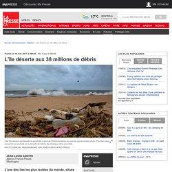 L'île déserte aux 38 millions de débris