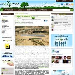 Desertec : l'Algérie dans la boucle