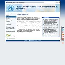 La désertification - Journée mondiale de lutte contre la désertification