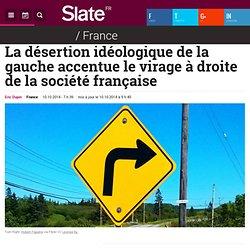 La désertion idéologique de la gauche accentue le virage à droite de la société française