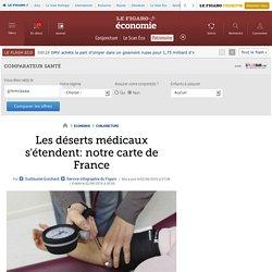 Les déserts médicaux s'étendent: notre carte de France