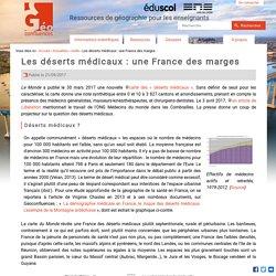 Les déserts médicaux : une France des marges