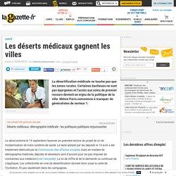 Les déserts médicaux gagnent les villes