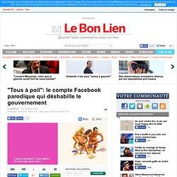 """""""Tous à poil"""": le compte Facebook parodique qui déshabille le gouvernement"""