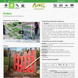 PicBine : Désherbage multifonctions