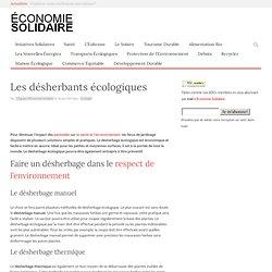 Désherbage Écologique - Les Désherbants Écologiques