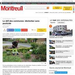 Le défi des communes: désherber sans pesticide - Montreuil - Le Reveil de Berck