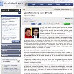 Le déshonneur supervisé d'Obama