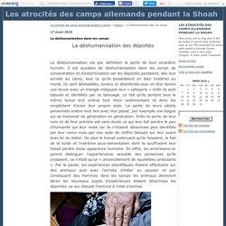 La déshumanisation dans les camps - Les atrocités des camps allemands pendant la Shoah