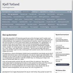 Desi og desimeter - www.kjelltotland.com