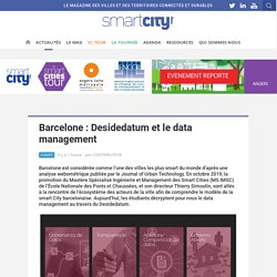 Barcelone : Desidedatum et le data management