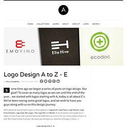 Logothèque A/Z E