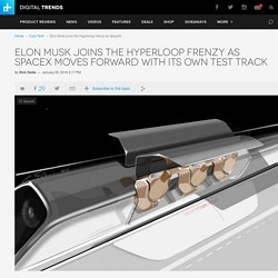 Design Firm Aecom to Build Hyperloop Test Track for SpaceX