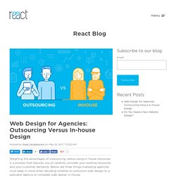 Web Design for Agencies: Outsourcing Versus In-house Design