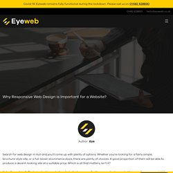 Hire web design agency Hull to get noticed in the market