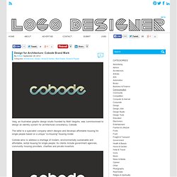 Design for Architecture: Cobode Brand Mark - Logo Designer