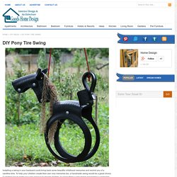 DIY Pony Tire Swing