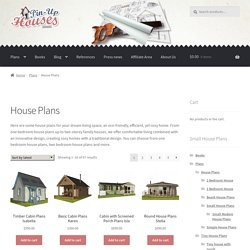 House Floor Plans, Small Home Design Plans, Micro House Plans, Blueprints and Building Design Plans