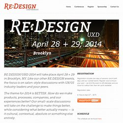 RE:DESIGN Conferences